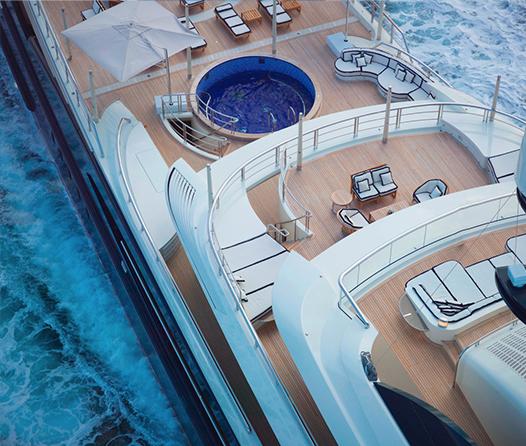 Kylie Jenner celebrará su cumpleaños a bordo de este yate millonario