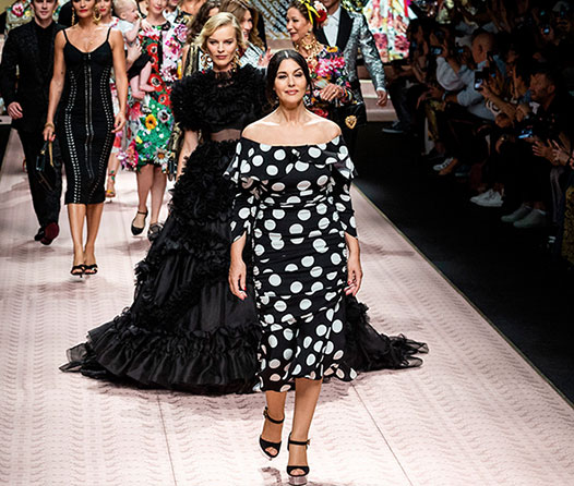 Dolce & Gabbana es la primera firma de lujo en incluir tallas plus size