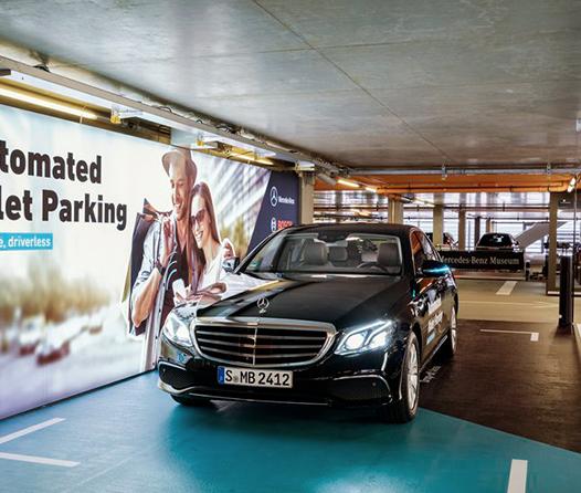 Mercedes crea un sistema de valet sin viene-viene