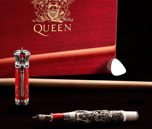 Montegrappa rinde tributo a Queen con esta increíble pluma