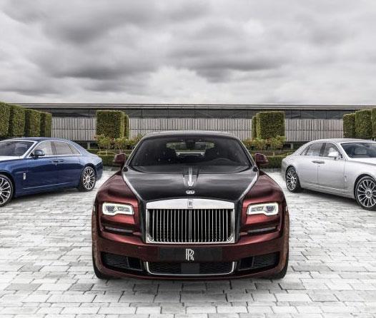 Esta es la flamante colección con la que Rolls-Royce se despide del modelo Ghost
