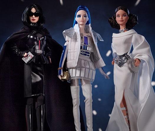 Barbie ya tiene una colección dedicada a Star Wars