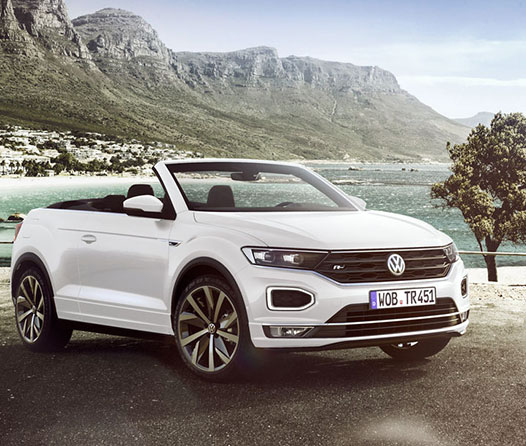 Volkswagen presenta su primer SUV convertible
