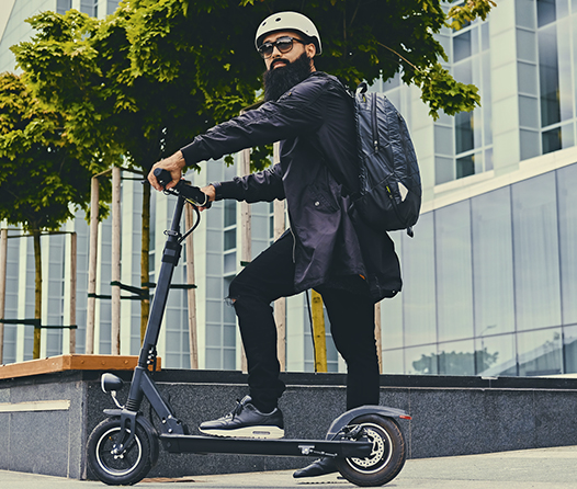 Conquista la ciudad con estos scooters eléctricos que alcanzan los 80 km/hr