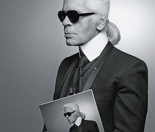 5 lecciones del estilo que aprendimos del legendario Karl Lagerfeld