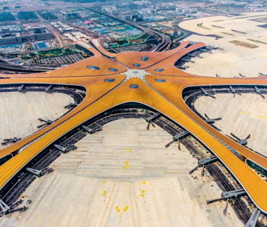 Daxing de Beijing, un aeropuerto diseñado para el futuro