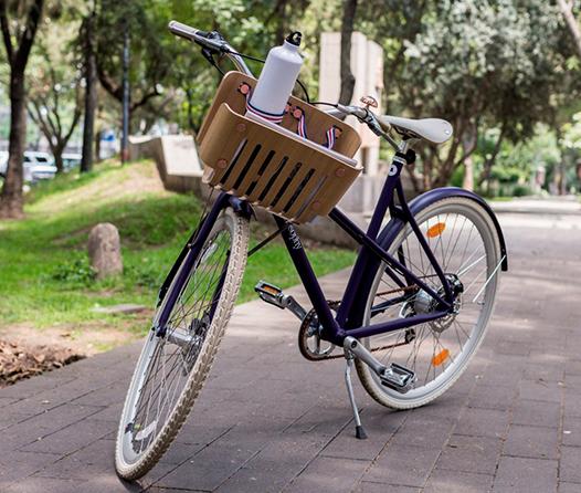 Nespresso apoya al planeta y crea bicicleta hecha con cápsulas recicladas