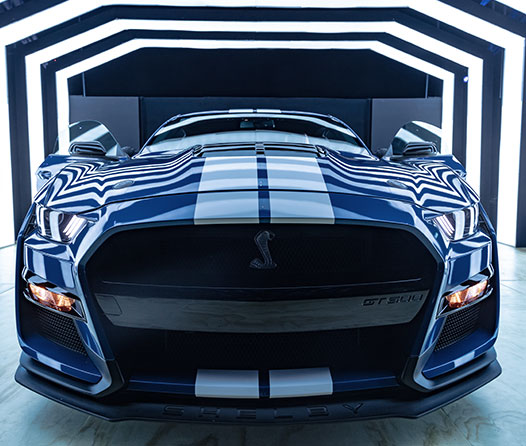 Shelby GT500 2020, un auto diseñado para la pista, pero construido para las calles