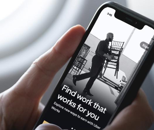 Uber Works, el nuevo Tinder donde buscarás trabajo en lugar de pareja