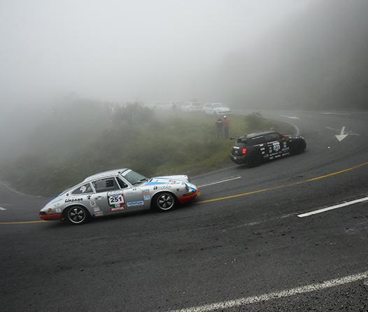 La Carrera Panamericana, un rally donde el honor se pone en juego
