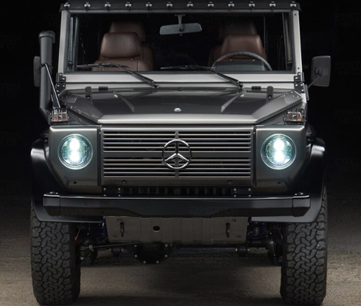 El clase G de Mercedes-Benz celebra 40 años con una serie de edición limitada