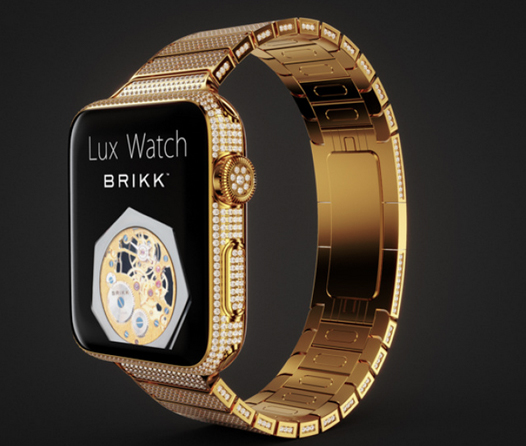 Lux Watch Omni 18K Yellow Gold
