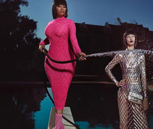Ya puedes comprar la nueva colección que Fendi hizo con Nicki Minaj