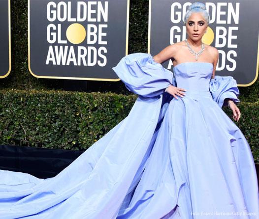 Lady Gaga extravió su vestido de los Golden Globes y ahora será subastado