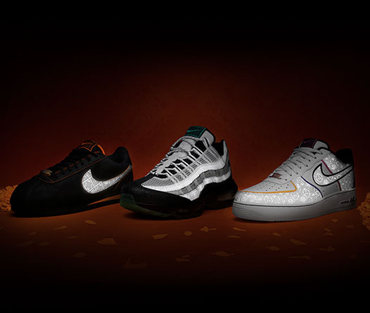 Nike presenta colección inspirada en el Día de Muertos