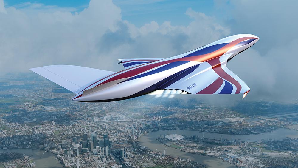 El avión espacial hipersónico que te llevará de NY a Londres en una hora