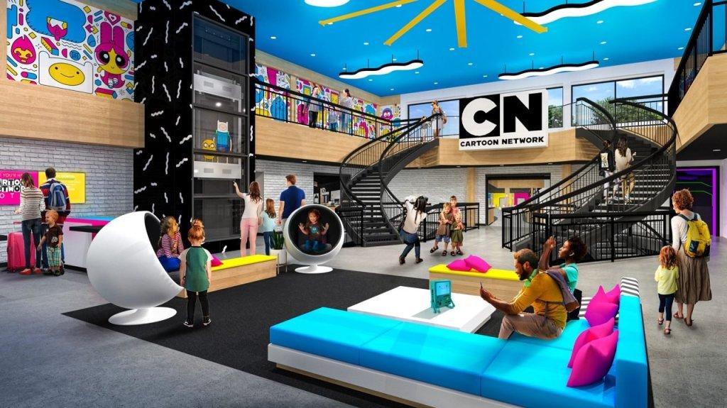 ¡Atención millennials! Así será el hotel de Cartoon Network