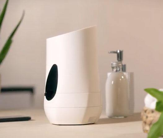 HyLab es una máquina que hace cremas faciales en ¡un minuto!