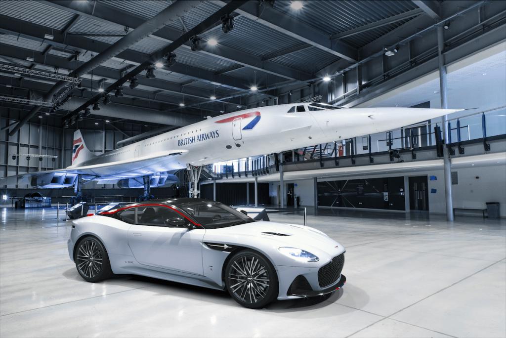 Aston Martin rinde homenaje al Concorde con una edición especial