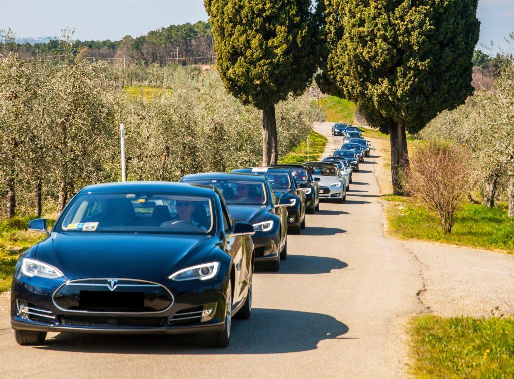 Foto Twitter: Tesla