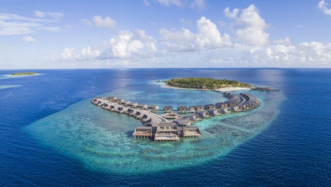 La isla privada en las Maldivas por solo 250 mil dólares la noche