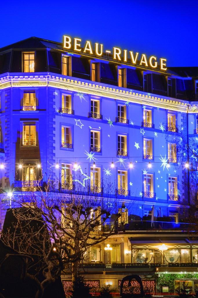 Beau-Rivage Genève sinónimo de alcurnia y gloria