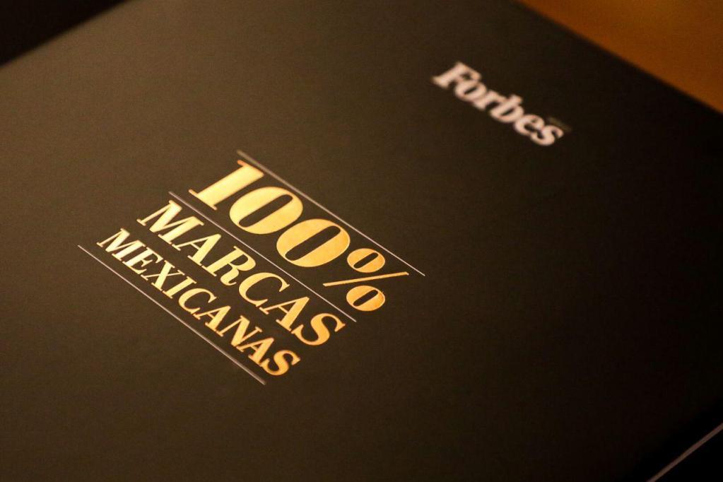 Las 100% Marcas Mexicanas,  el primer libro de Forbes México