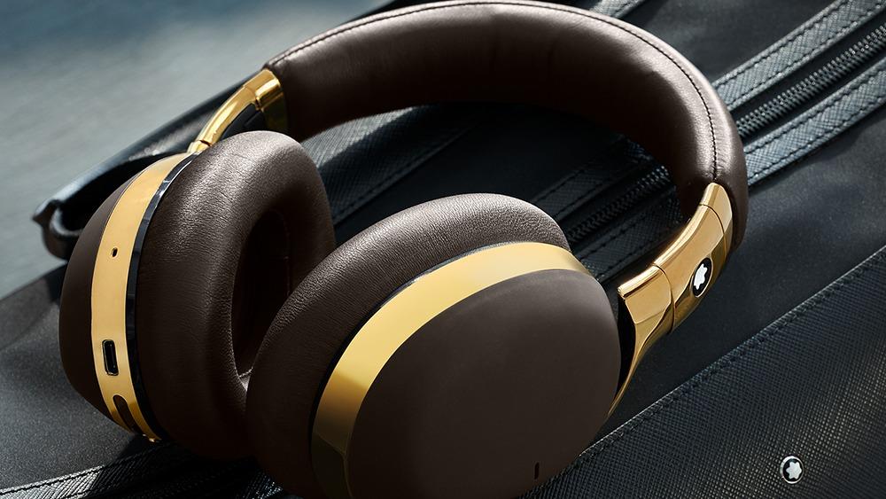 Los nuevos audífonos de Montblanc diseñados para viajar con clase