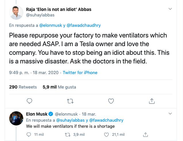 ventiladores médicos