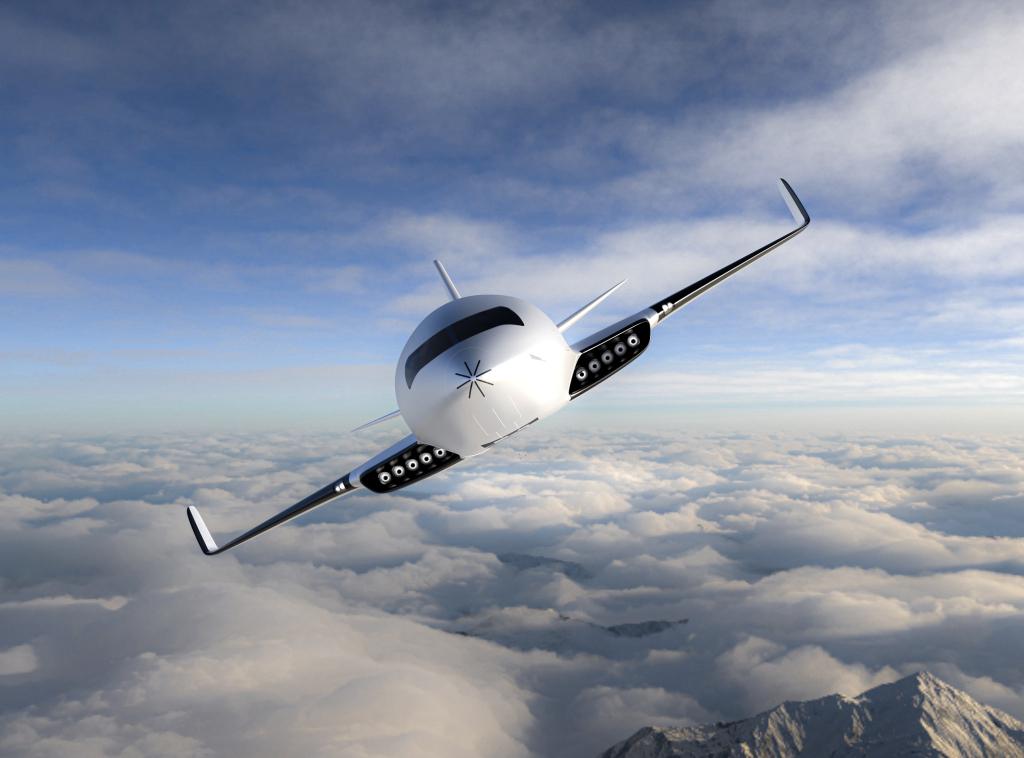 Eather One podría ser el avión más sustentable del mundo
