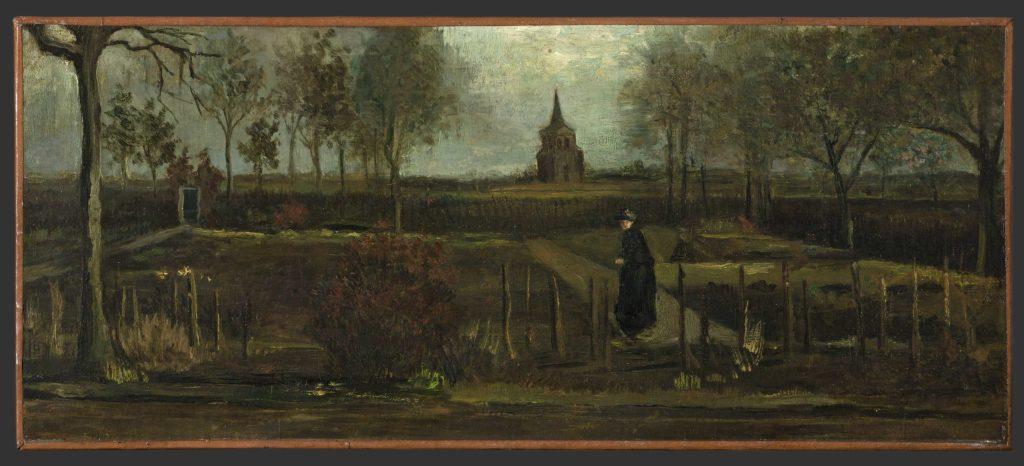 The Parsonage Garden at Nuenen in Spring