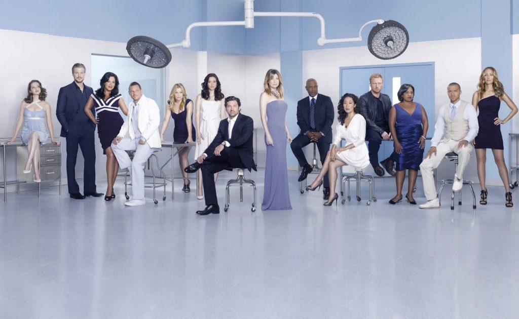 Grey's Anatomy y otras series donan material médico