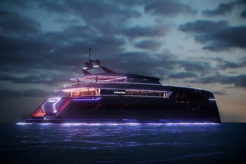 El superyate de Sunreef Yachts que parece discoteca