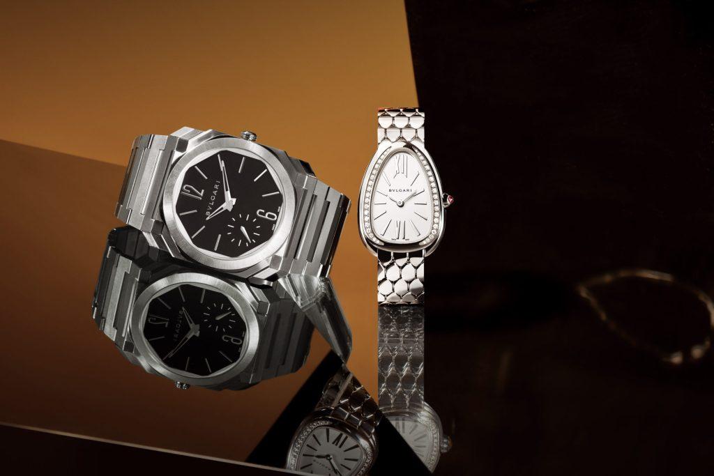 Bvlgari confirma su status como el joyero del tiempo, con sus nuevos relojes