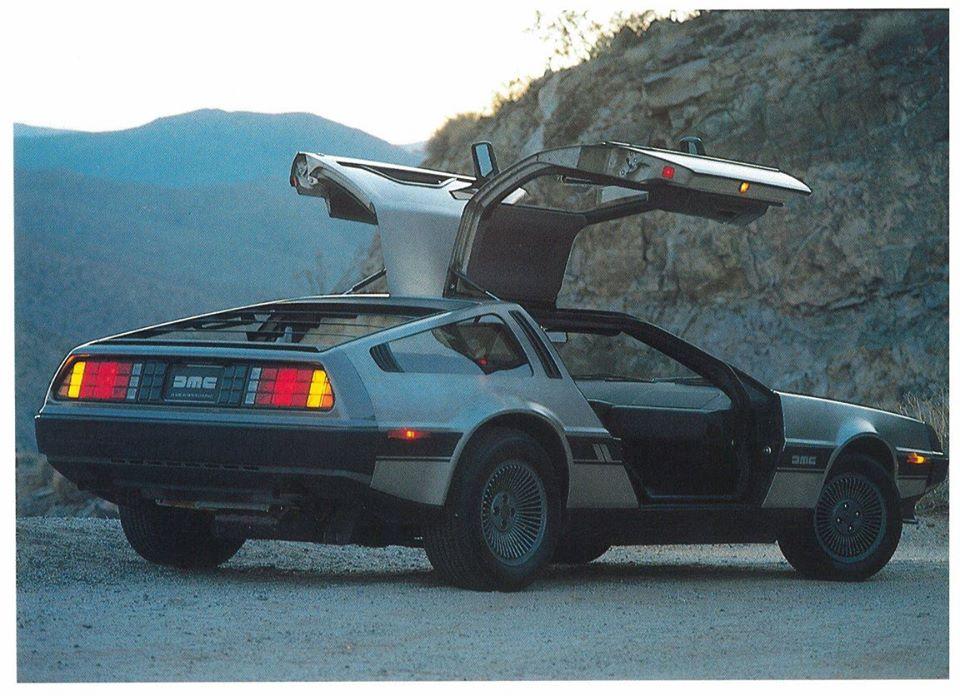 DeLorean DMC-12, el auto de Volver al Futuro que puede ser tuyo en 2021