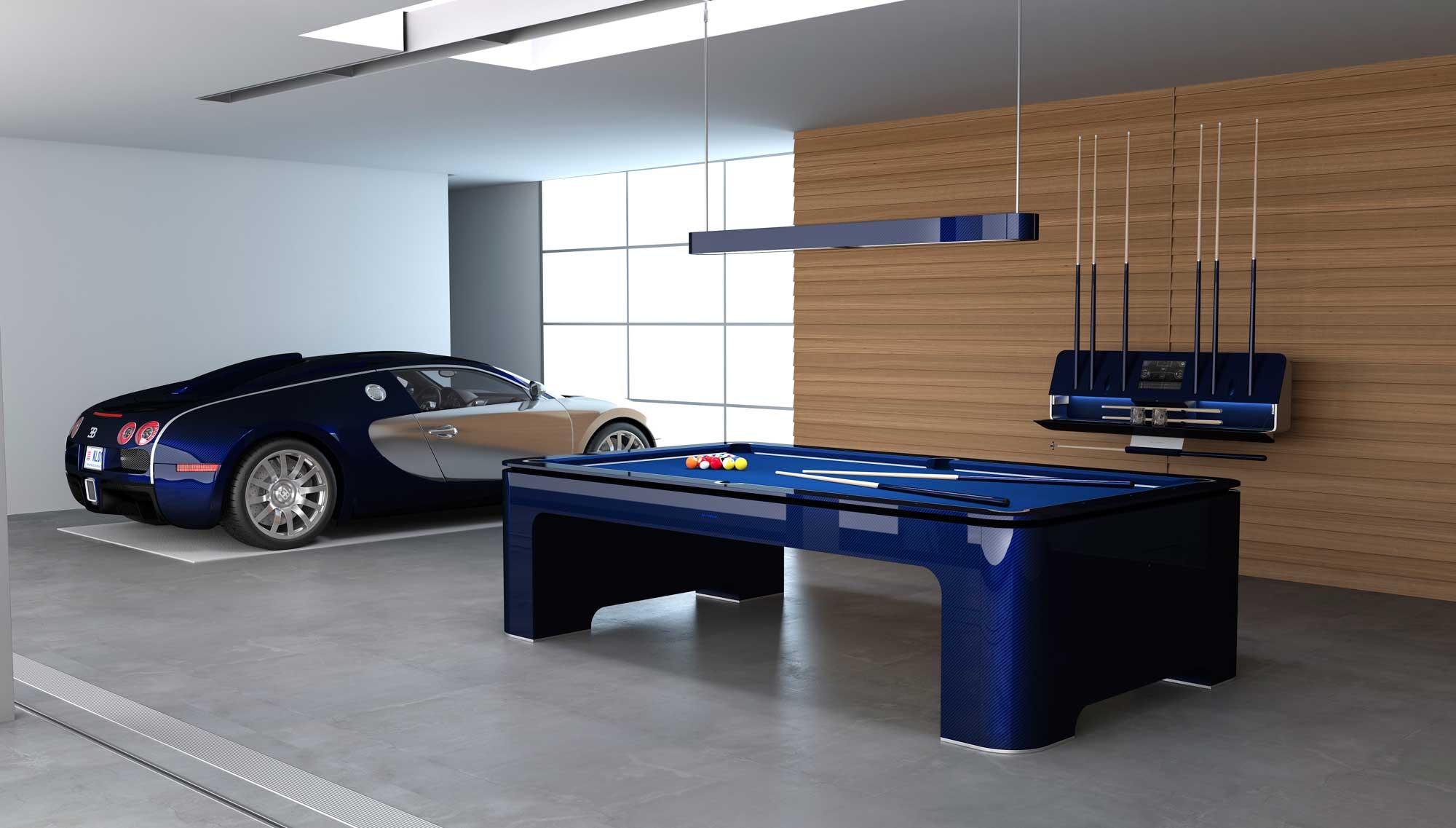 ELYSIUM: El Bugatti Veyron de las mesas de billar