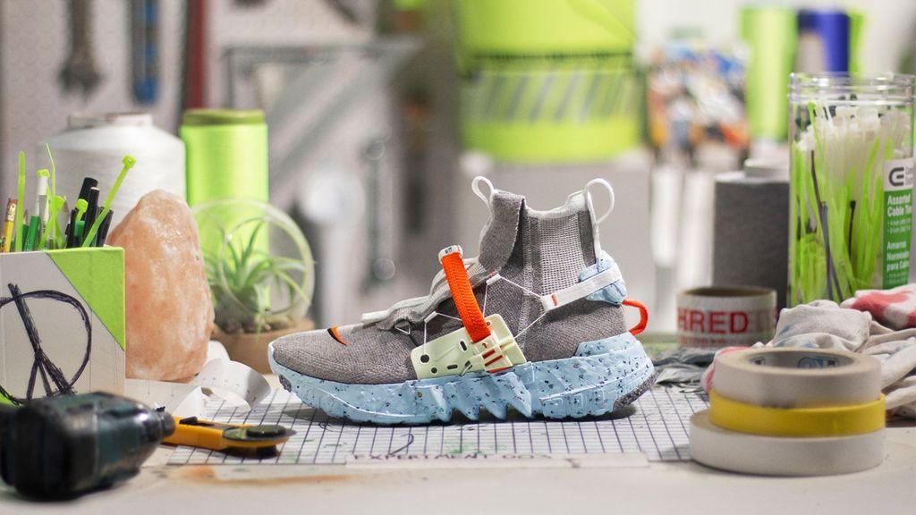 Space Hippie, las zapatillas más sustentables de Nike, hechas con basura espacial