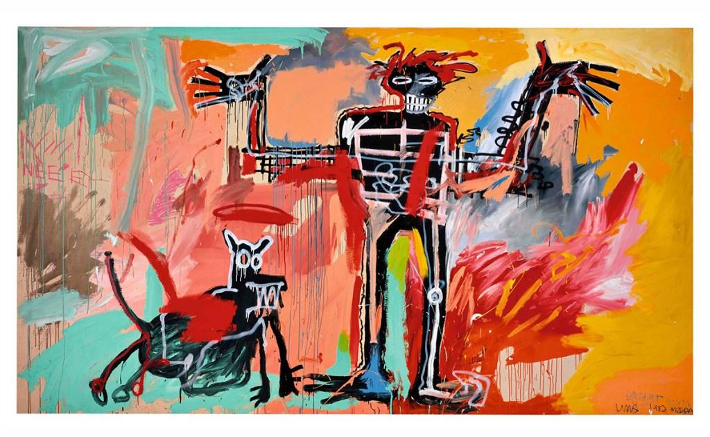 Esta pintura de Jean-Michel Basquiat se vendió por 100 mdd