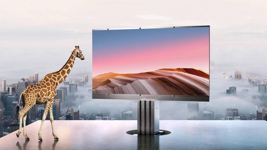 La TV más grande del mundo es más alta y más cara que una casa
