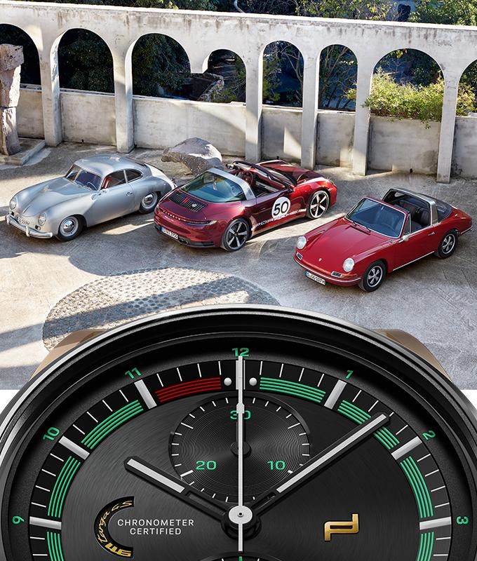 El reloj que combina con el 911 Targa 4s Heritage, Porsche Design ya lo tiene