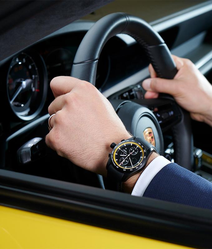 ¿Combinar tu reloj con tu deportivo? Porsche Design ya lo hizo realidad