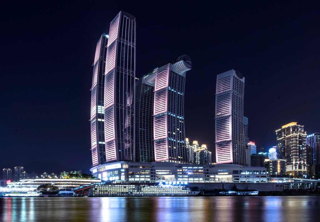 The Crystal: el rascacielos horizontal más alto del mundo está en China
