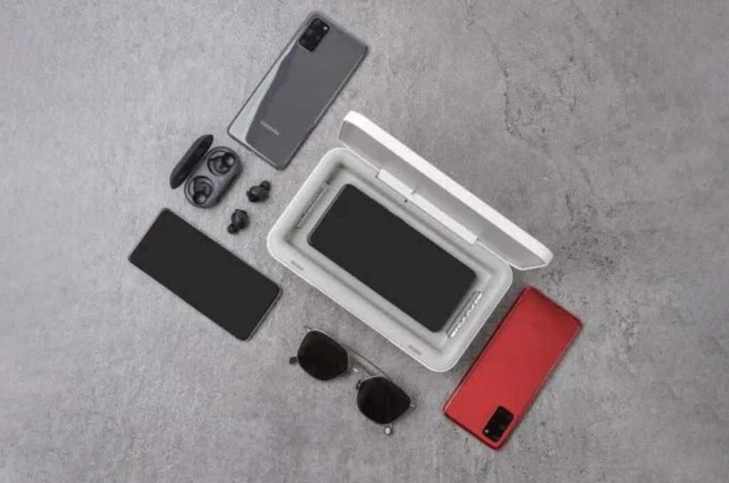 El cargador inalámbrico de Samsung que necesitas para mantener tu smartphone sanitizado
