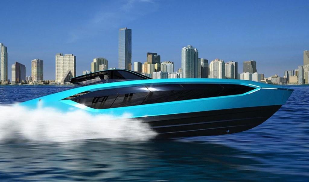 Lamborghini 63, el yate superdeportivo que conquistará el mar