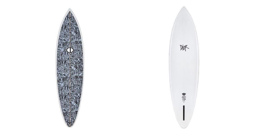 tabla de surf de Dior