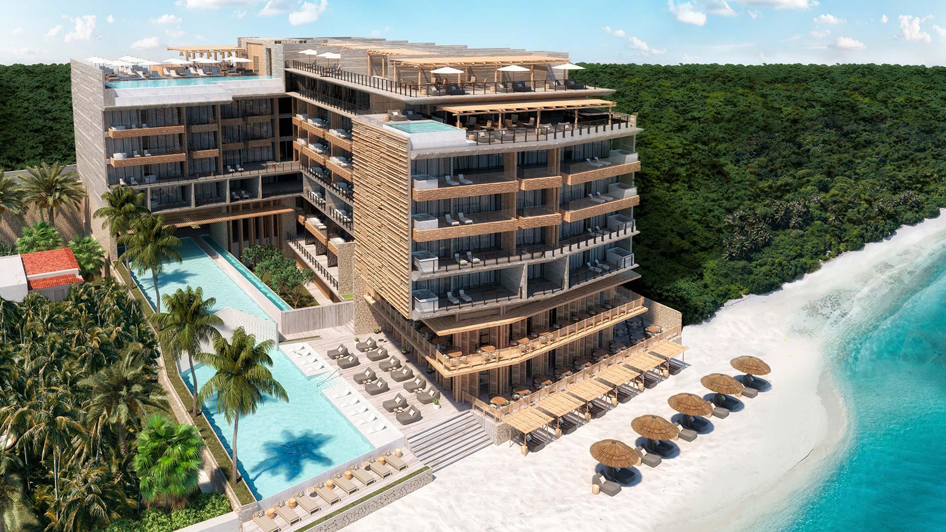 Ro Marley Beach House:  La joya bohemia de Puerto Morelos