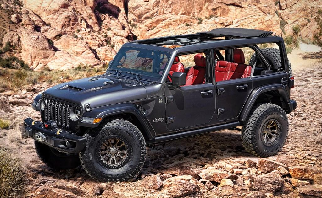 Wrangler Rubicon 392 Concept, el Jeep que necesitas para tu próxima aventura