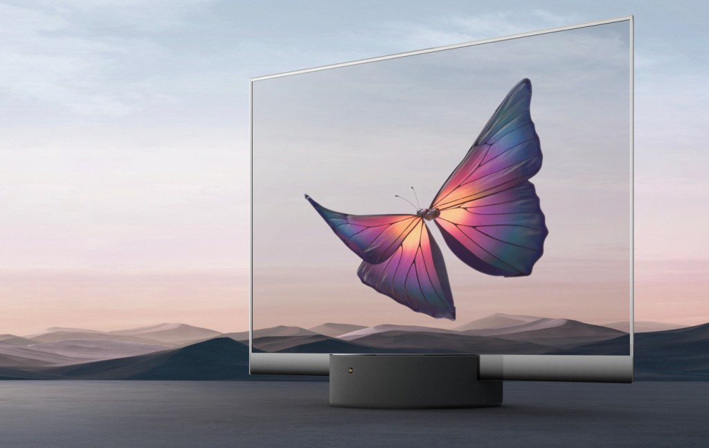 La primera pantalla transparente en el mundo es de Xiaomi y transmite imágenes que parecen suspendidas en el aire