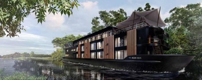El barco más exclusivo para navegar por el Amazonas se llama Aqua Nera