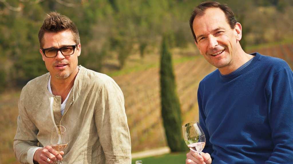 champagne de Brad Pitt